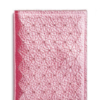 1: Geo Metallic Leather Card Case in  - LEIF
