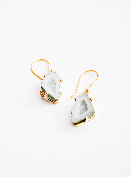 Geode Drop Earrings - LEIF