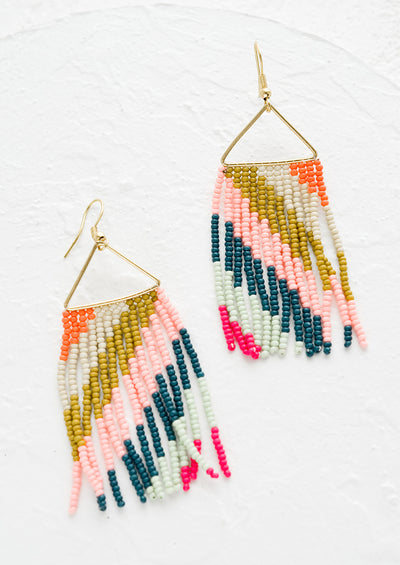 Cascade Fringe Earrings hover