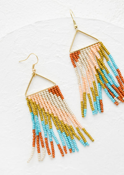 Cascade Fringe Earrings