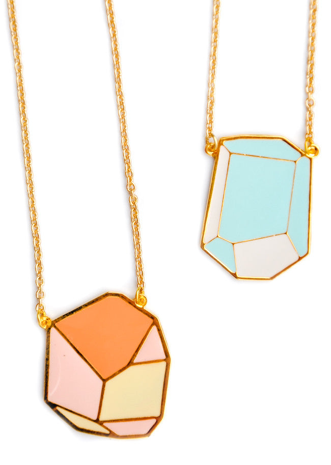 Geometric Rock Necklace - LEIF