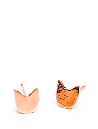 Cat Stud Earrings - LEIF
