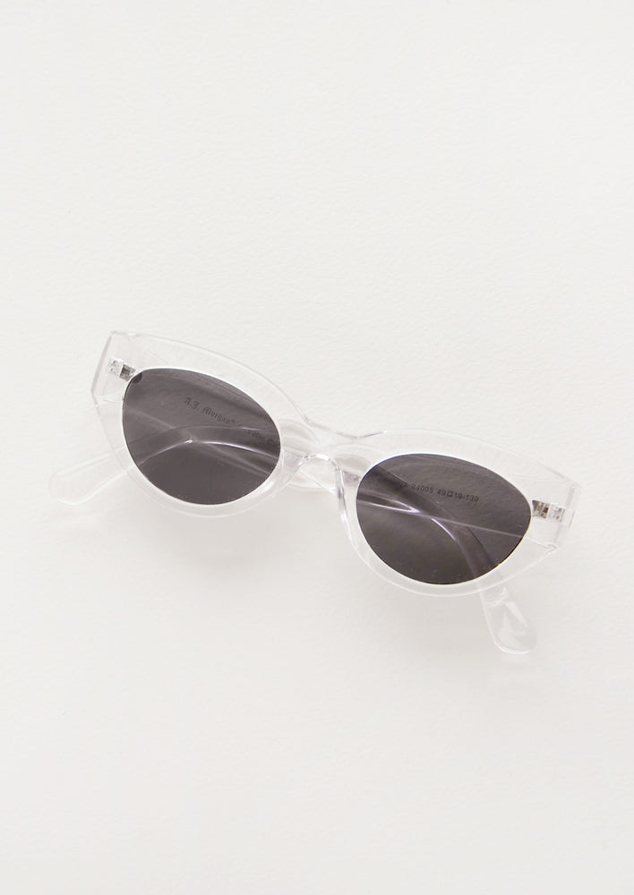 Crystal Clear: Gina Sunglasses in Crystal Clear - LEIF