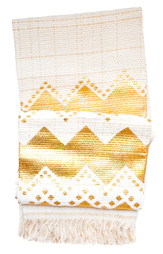 Glimmering Chevrons Throw - LEIF