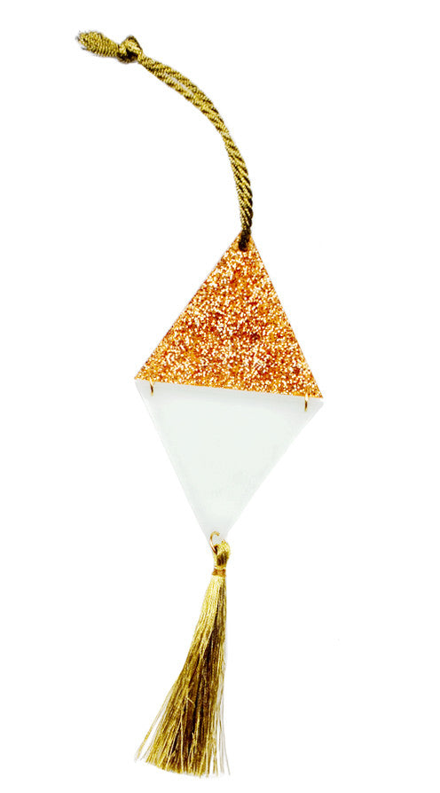 Triangle Tassel Ornament - LEIF
