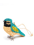 Glittered Audubon Ornament - LEIF
