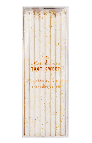 Glittered Birthday Candles - LEIF