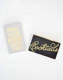 Gold Foil Printed Matchbox