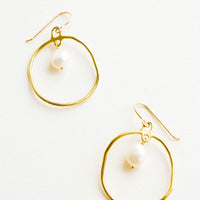 Calypso Baroque Pearl Earrings