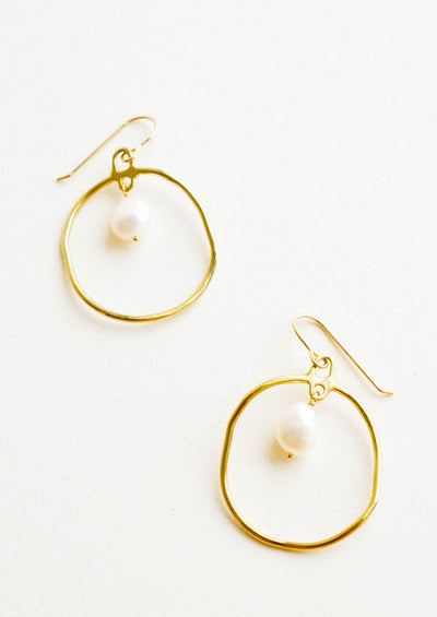 Calypso Baroque Pearl Earrings hover