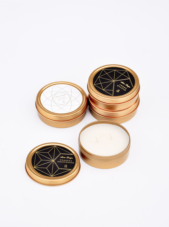 Golden Ratio Travel Candle