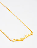 Golden Twig Necklace - LEIF