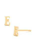 Alphabet Stud Earrings - LEIF