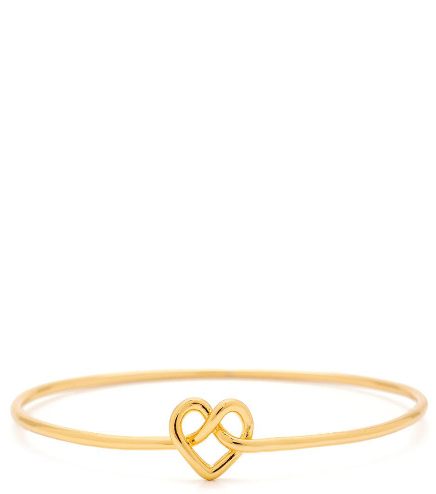 Cross My Heart Bangle Bracelet - LEIF