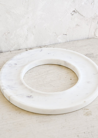 Go Round Marble Serving Tray