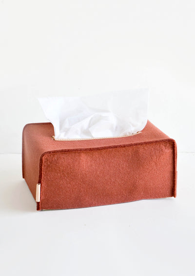 Merino Wool Tissue Box Cover hover