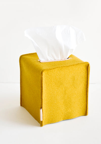 Merino Wool Tissue Box Cover