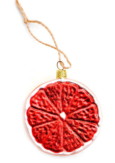 Grapefruit Citrus Ornament