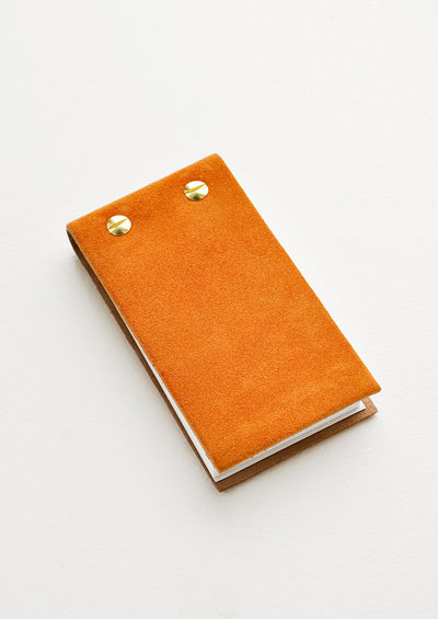 Leather Flip Notepad hover