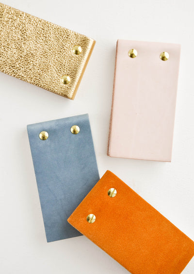 Leather Flip Notepad