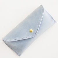 Structured Leather Glasses Case