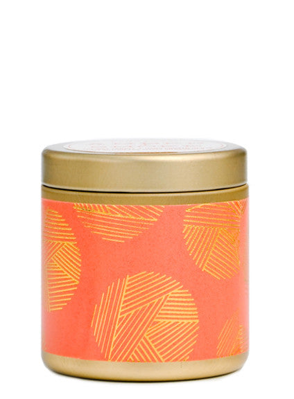 Graphic Tin Mini Candle