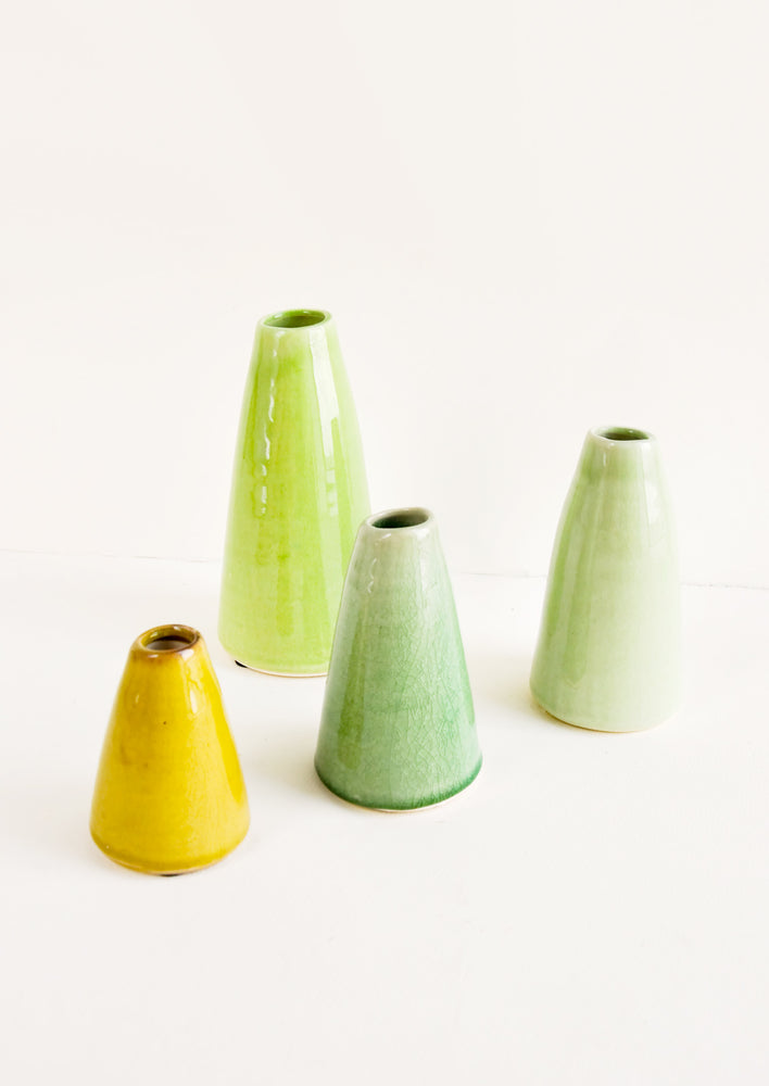 1: Greenery Ceramic Vase in  - LEIF