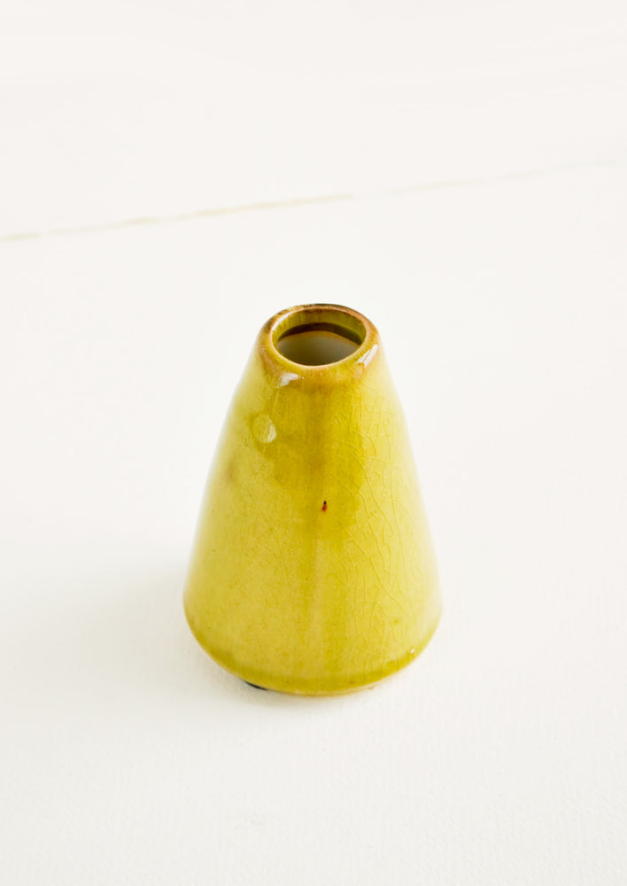 "Greenery Ceramic Vase in Extra Small / 3.75"" [$12.00] - LEIF"