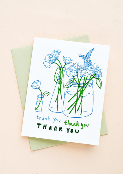 Greenmarket Thank You Card Set hover