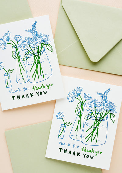 Greenmarket Thank You Card Set