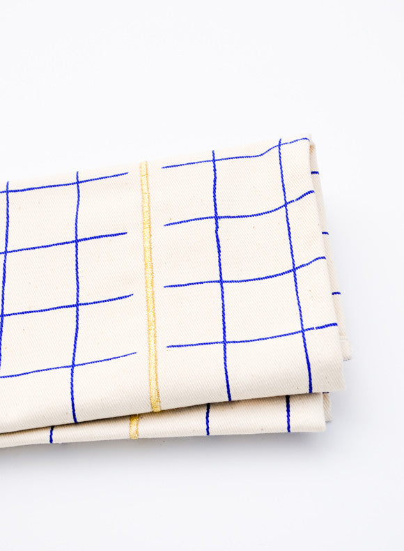 Grid Stripe Napkin Set - LEIF
