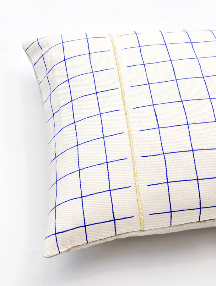 Grid Stripe Pillow