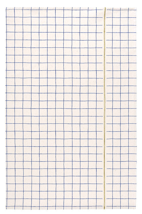Grid Stripe Tea Towel - LEIF