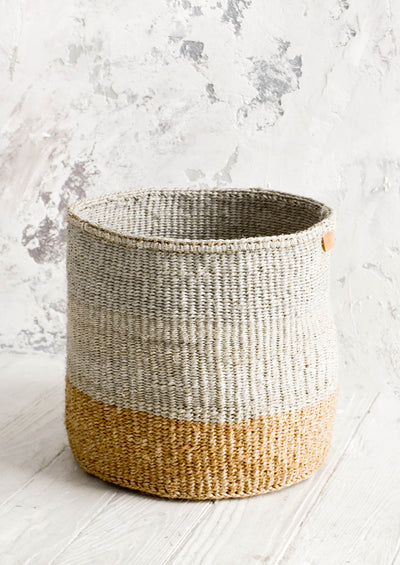 Gris Sisal Storage Basket