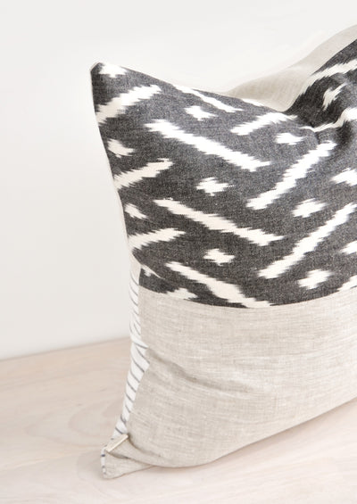 Half & Half Pillow in Chiko in  - LEIF