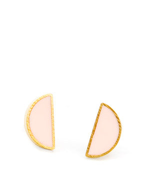 Half Moon Stud Earrings - LEIF