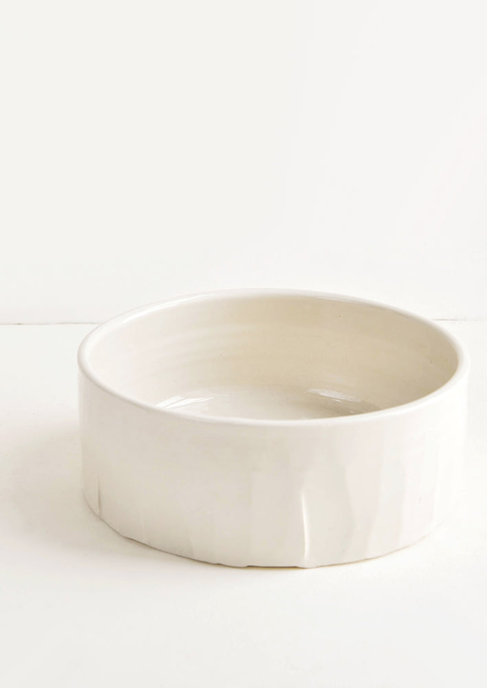 1: Halite Ceramic Serving Bowl in  - LEIF