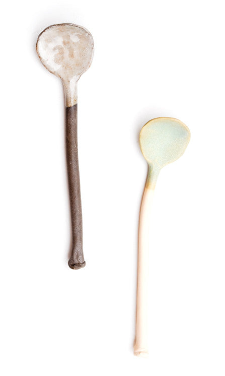 Hand Formed Ceramic Spoon - LEIF