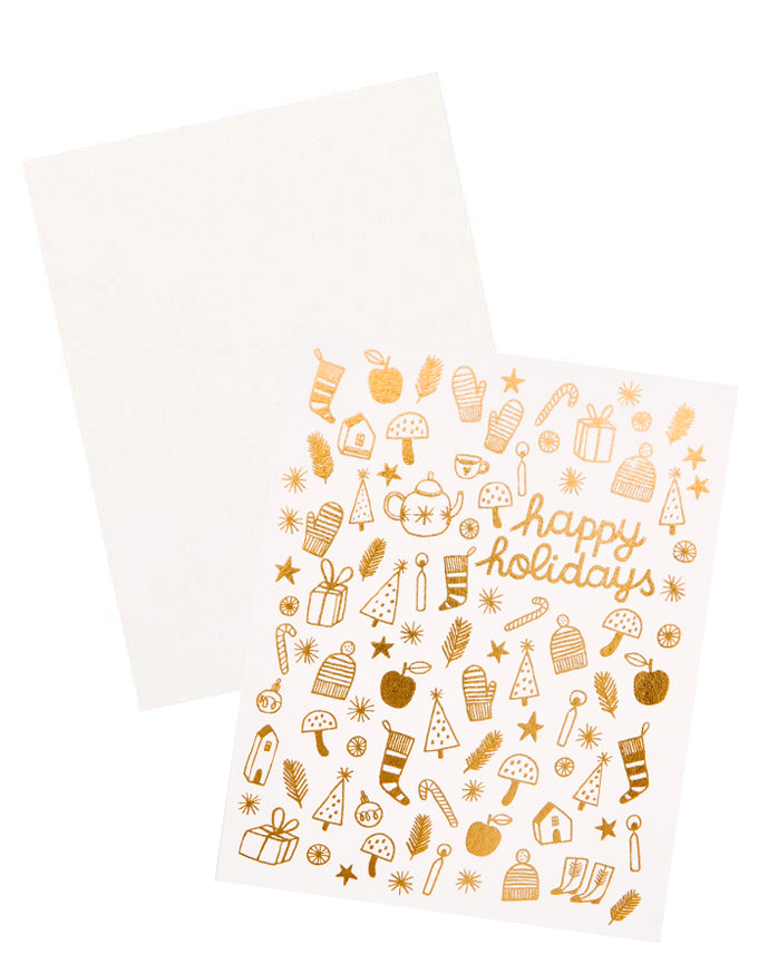 Happy Holiday Trinkets Card - LEIF