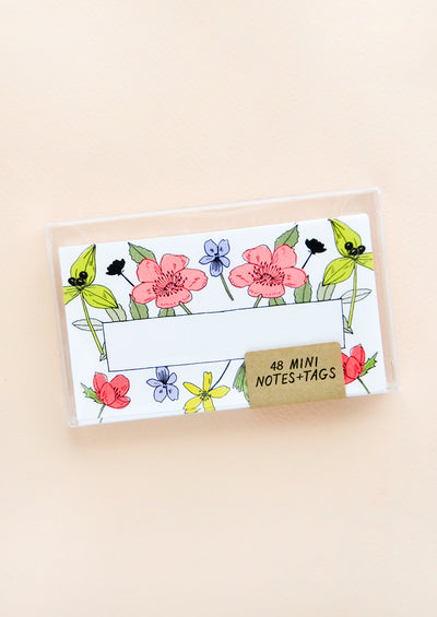 Wildflower Mini Notecard Set hover