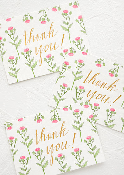 Thistle Thank You Card Set