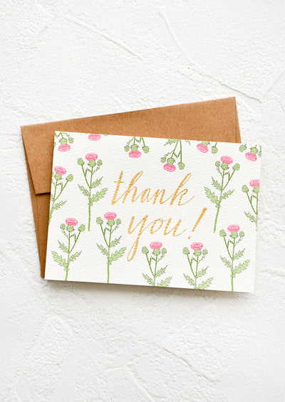 Thistle Thank You Card Set hover