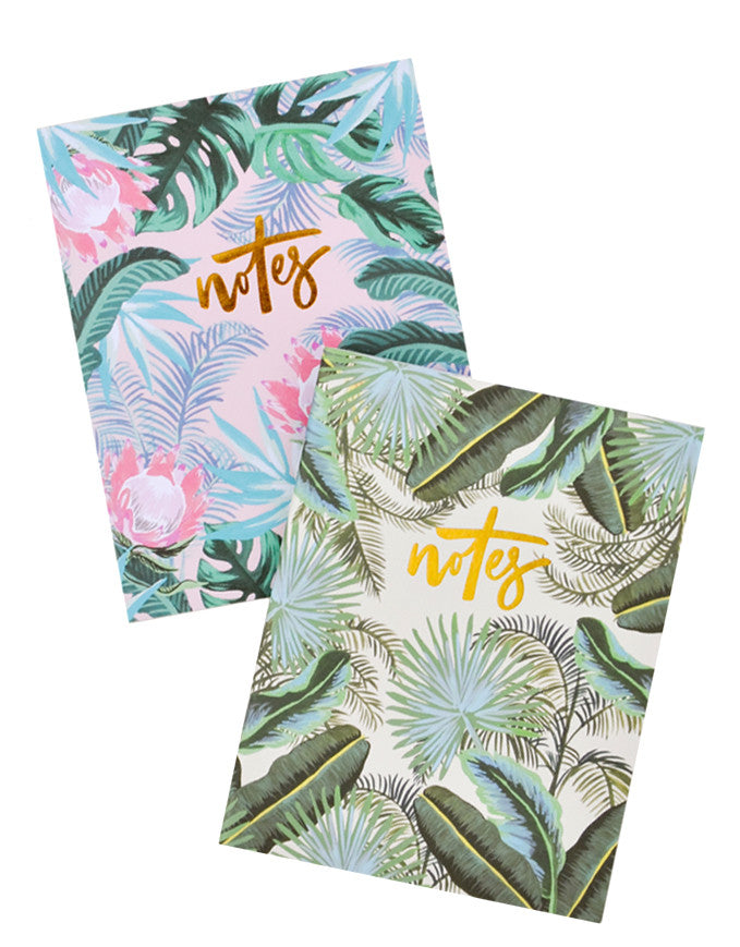 Hawaiian Floral Notebook Set - LEIF