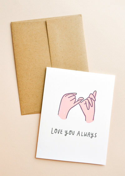 Love You Always Card in  - LEIF