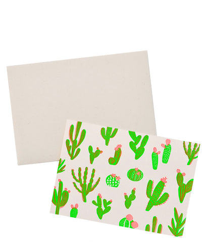 Neon Cactus Card Set - LEIF