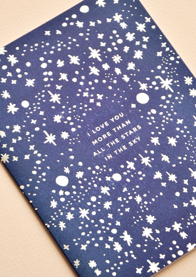 Stars in the Sky Card hover