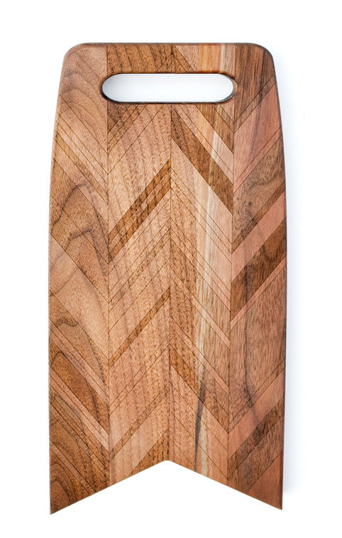Herringbone Flag Cutting Board - LEIF