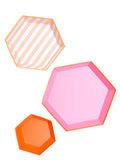 Hexagon Paper Serving Platter Set - LEIF