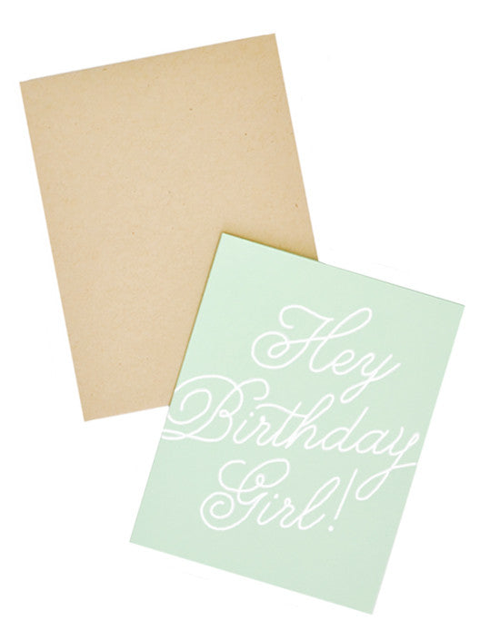 Hey Birthday Girl Card Set - LEIF