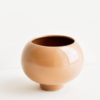 1: High Gloss Ceramic Planter in  - LEIF